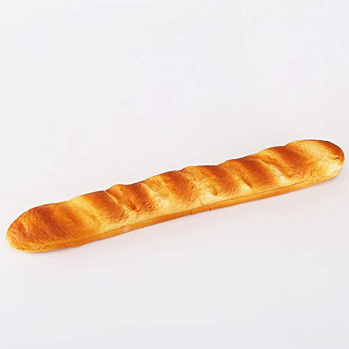Nice purchase Artificial Bread Fake Simulation Realistic Food Cake French Bread Loaf Baguette Dessert for Decoration Display Props Real Model (E)
