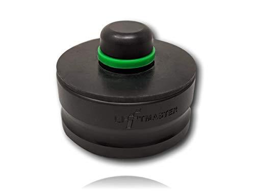 LiftMaster Jack Lift Point Pad Adapter passend für Tesla Modell S 3 X Y schützt Batterie Lack-Seitenschürze; Verwenden Sie 1 mit einem Bodenwagenheber oder 4 für einen 4-Punkt-Profi-Fahrzeughebel