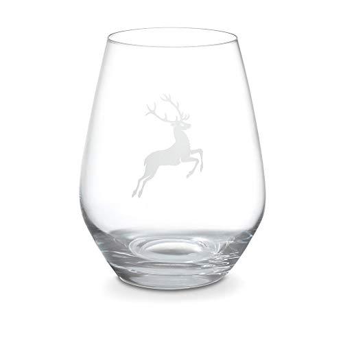 GMUNDNER KERAMIK Wasserglas Hirsch Füllmenge: 420 ml Spiegelau