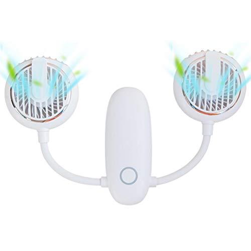 HAOXU Ventilador de Cintura Libre de Manos Mini Mini Personal CELCULO Fan Ajustable Que Cambio CINA Fan