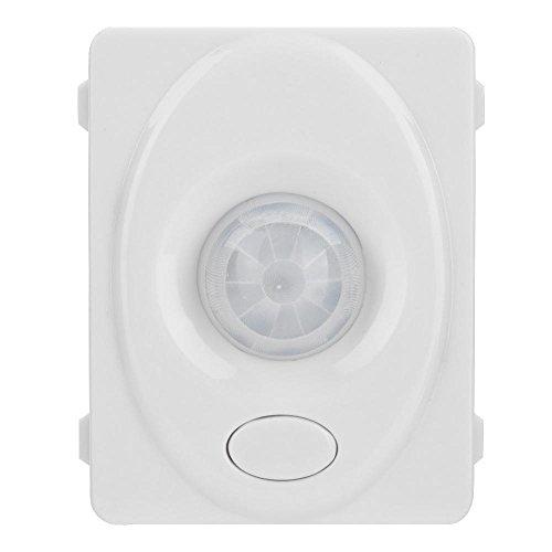 Mugast Infrarood bewegingsmelder, automatisch 140 graden infrarood PIR bewegingssensor schakelaar, 12 V verstelbare sensorschakelaar, bewegingssensorschakelaar voor LED-lamp, gang, badkamer, kelder of magazijn