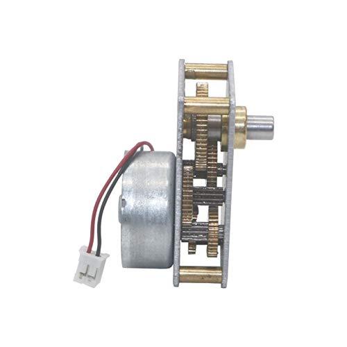 Pangocho Jinchao-Gleichspannungs Motor Mikrogeschwindigkeitsminderer Alle Metallgetriebe-Getriebemotor, DC 6V 27RPM, Speed(RPM) : 6V No Load 27RPM