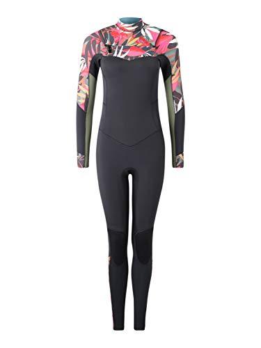 BILLABONG Damen Salty DayZ 3/2mm Chest Zip Wetsuit Tropical - thermische warme Wärme legere Furnace Futter Einfache Stretch