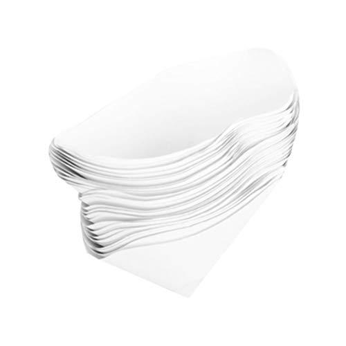 Ultechnovo 50 Stück Siebkegel Trichter Mikron Papier Sieb Filter Spitze kegelförmig feines Nylon Mesh Trichter Mesh Filter für Fahrzeug Auto Auto 250 Mesh, Szie 1, Bild 3, 1