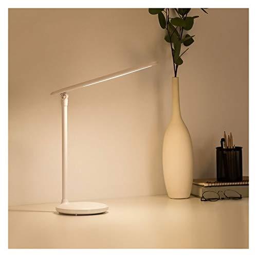 Lámparas de mesa y mesilla de noche Lámpara De Escritorio LED Escritorio De Cuidado De Ojos Lámparas De Mesa Ajustables Lámparas Táctiles Para El Estudio Oficina De Lectura Blanco Lámparas de escritor