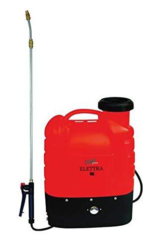 POMPA IRRORATRICE A ZAINO A BATTERIA 12 V 16 LT pompa spalla elettrica ELETTRA