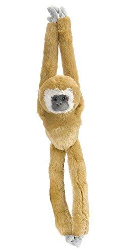 Wild Republic Hanging Monkey 20, 15258, Blanc Gibbon Solitaire