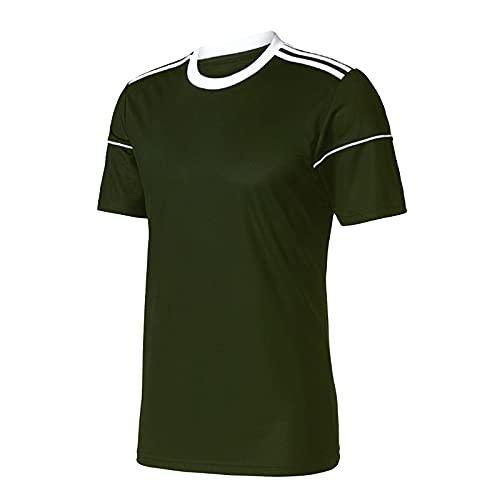 XDJSD Herren T-Shirt Kurzarm große T-Shirt Tops Herren Rundhals T-Shirts Herrenhemden lässig locker einfarbig Herren Kurzarm T-Shirts
