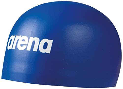 Arena 3D Soft Swim Cap, Royal, Small