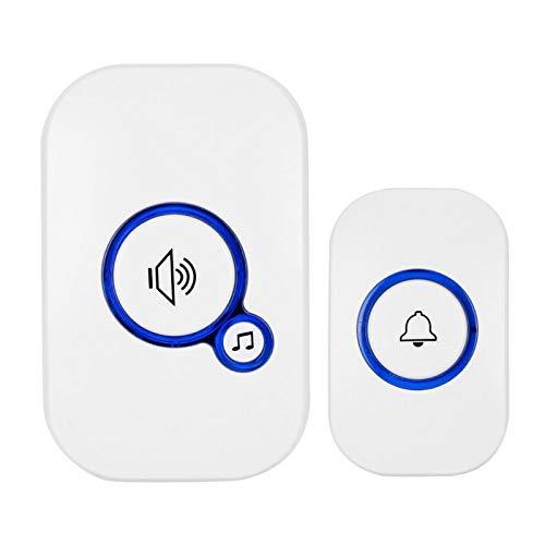 Pwshymi Movimiento infrarrojo del Timbre inalámbrico, para la Seguridad en el hogar AC 100-220V