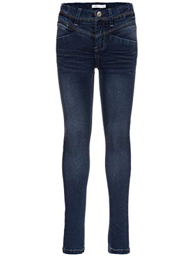 NAME IT Damen Jeans Skinny Fit 140Dark Blue Denim