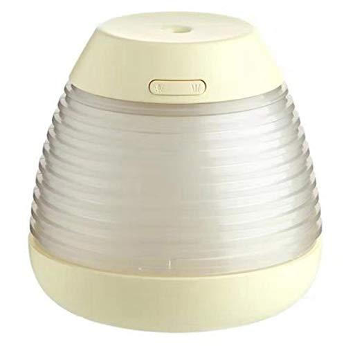 TOOGOO Humidificador de Aire Antiarrugas Quemador Difusor de 250 Ml HumidificacióN USB Aroma Difusor de Aceite Esencial Enfriar Fabricante de la Niebla Nebulizador Amarillo