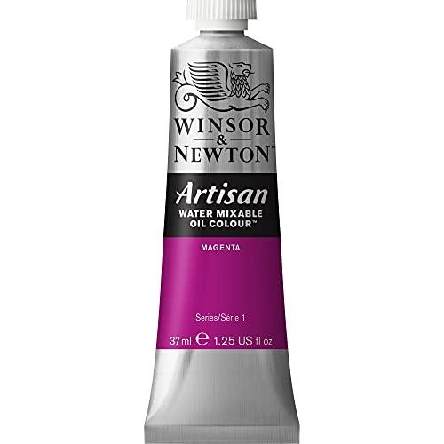 Winsor & Newton Artisan Water Mixable Oil Colour, 37ml Tube, Magenta, 37-ml