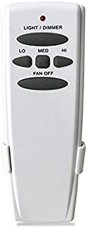 Ceiling Fan Reverse Remote Control Completely Replace Hampton Bay UC7078T CHQ7078T FAN-HD,Wall Mount Included,16 Matching Modes,Strong Signal (UC7078T)