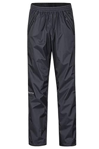 Marmot Precip Eco Full Zip Pant S Pantaloni Rigidi Resistenti Alla Pioggia E All'acqua, Antivento, Traspiranti, Uomo, Black, S