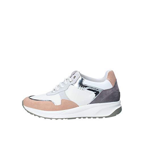 Cesare Paciotti Zapatillas para mujer PETDT3799WRL455, color blanco, color Blanco, talla 40 EU