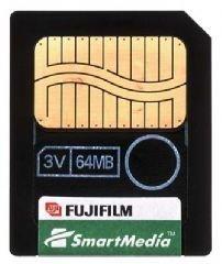 Fujifilm SmartMedia - Tarjeta de Memoria (64 MB)