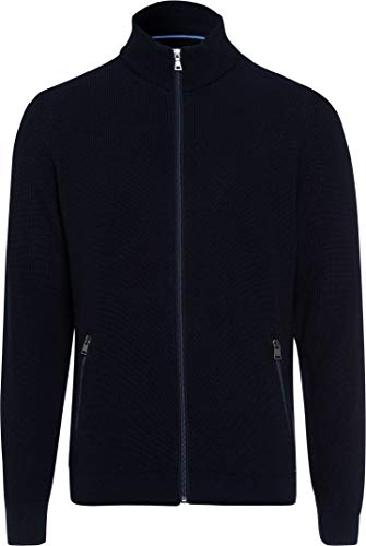 BRAX Herren Style John Strickjacke, Blau (Navy 22), 50 EU
