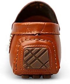 NA Treiber Mokassin für Männer Slip-on Breath Driving Schuh-Mode-Monk-Schuh beiläufiger Loafers Schuh Large Size Brown SZ1eC