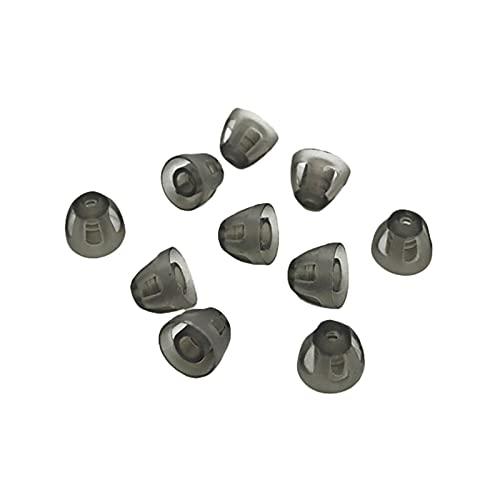 1x Offener Dome/offenes Schirmchen aus Silikon für Hörgeräte (Größe S)