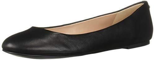 BCBGeneration Women's Geremia Flat Shoe, Black, 7 M US