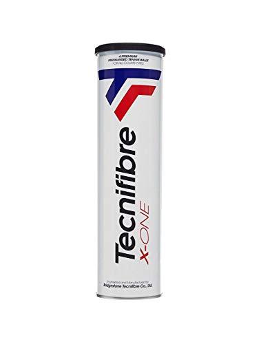 Tecnifibre X-One Pelotas de tenis Bote 4 unidades