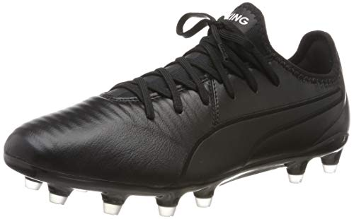 Puma Unisex-Erwachsene King Pro FG Botas de fútbol, Schwarz Black White, 44.5 EU