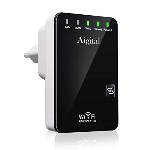 Imagen de Repetidor Para Wifi Con Puerto Ethernet Aigital por menos de 20 euros.