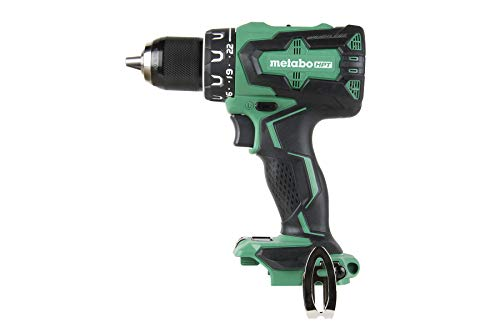 Metabo HPT DS18DBFL2Q4 18V Cordless Brushless Driver Drill, Tool Only - No Battery, Built-in LED Light, 1/2-Inch Keyless All-Metal Chuck, Lifetime Tool Warranty