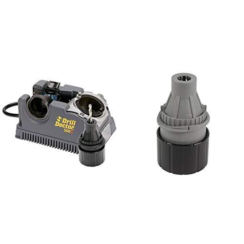 Drill Bit Sharpener, 118 Or 135 Deg & Left-Handed Chuck, 3/32-1/2 in
