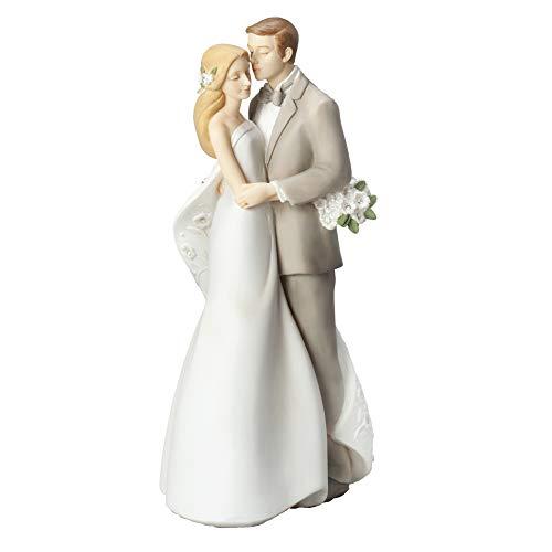Roman Giftware - Together Forever Wedding Cake Topper, 9.25' H, Giftware, Resin and Stone, Wedding Giftware, Decorative