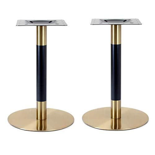 YXB Metalen tafelpoten - bankpoten eettafel poten bankpoten - DIY - industriële sterkte - midden eeuw modern - voor koffie en salontafel, familie DIY project