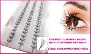 Individual eyelashs Pot de faux cils épais 14 mm