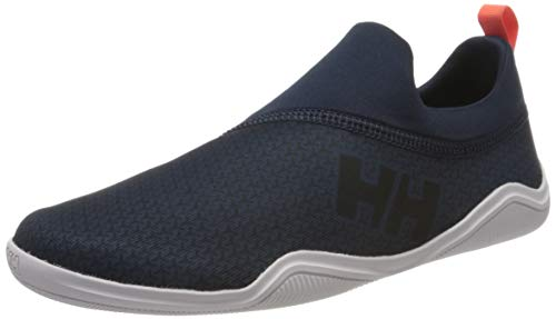 Helly Hansen W Hurricane Slip-on, Zapatillas Impermeables Mujer, Azul (Navy/Black/Nimbus Cloud 597), 39.5 EU