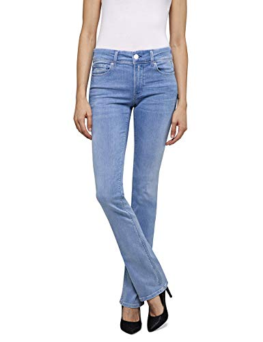REPLAY Luz Bootcut Jeans, Super Light Blue 11, 27W / 34L Donna