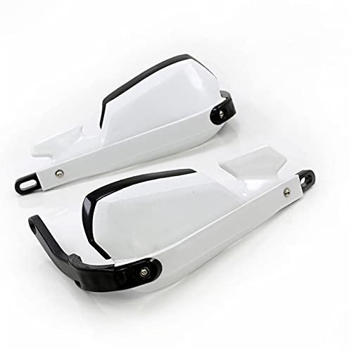 エンジン Maniglia del Motociclo Handguards del Vento delle Maniglie per B-M-W F800GS / R1200GS LC/ADV Ricambi per Motocicli (Colore : White)