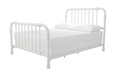 Little Seeds Monarch Hill Wren Metal Bed Full, White