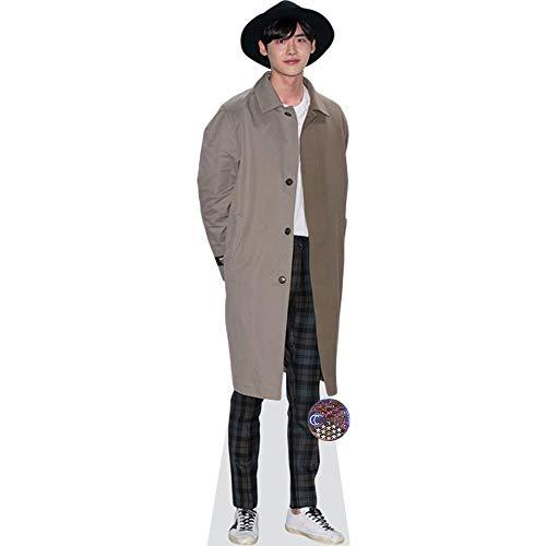 Celebrity Cutouts Lee Jong-Suk (Hat) Pappaufsteller lebensgross