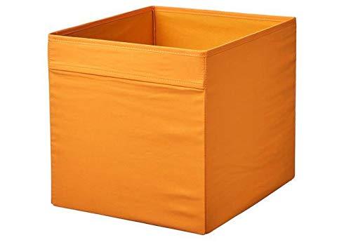 IKEA Drona - Caja (33 x 38 x 33 cm), color naranja