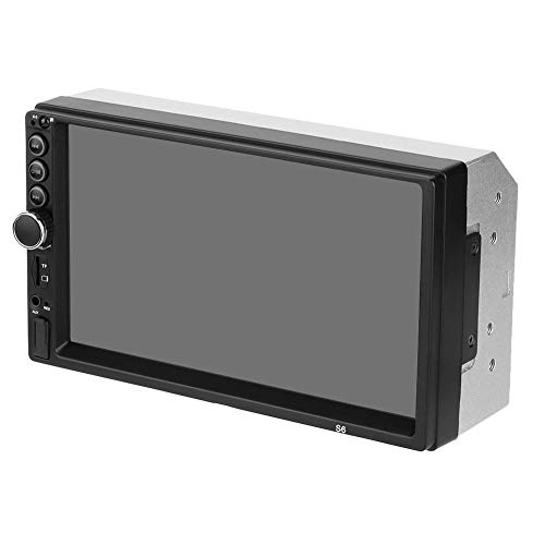 Mp5 Player 7 pulgadas de alta definición 2Din Pantalla táctil Car Multimedia Stereo Fm Reverse Camera Control remoto Llamadas con controlador de dirección