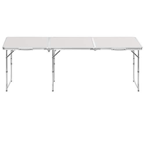 5 IN 1 TABLE Klappbare Studientisch-Konferenztisch-Haupttischplattencomputerschreibtisch-Studientabelle im Freien Shcro (Color : Gray)