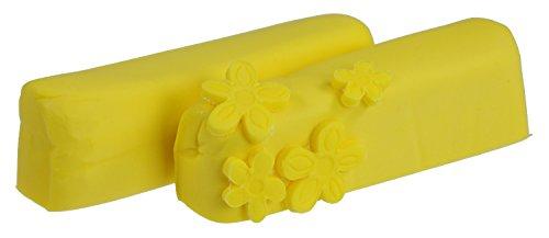 Hobbybäcker Fondant Gelb, ► Rollfondant, Dekormasse für Torten, Tortendeko, Fondant-Figuren, Fondant-Blumen, 250 g