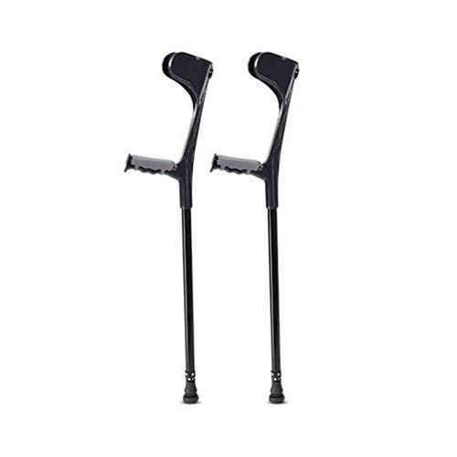 LZGZ Krücken Aluminium Erwachsener Hoch Krücken Krücken Orthopädische Beste Passform for Neue Verletzungen Unisex