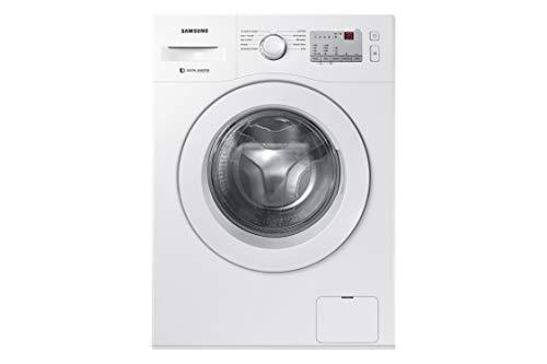 Samsung 6 kg Fully-Automatic Front Loading Washing Machine (WW60M206LMW/TL, White, Inbuilt Heater)