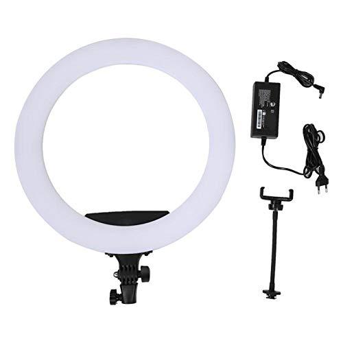 DAUERHAFT Luz de Relleno de Video Luz de Relleno de cámara Ajustable de 360 ° 3200-5600K, para producción de Video