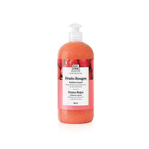 Soivre Cosmetics, Exfoliante corporal (Frutos Rojos) - 500 ml.