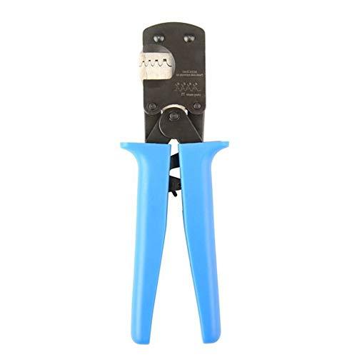 Crimper Plier Ratcheting Crimper IWS-3220M E Type Crimper Insert Spring Terminal Pin Crimping Tool for Open Barrel Suit Blue