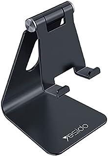 WTech YESIDO C96 Premium Quality Foldable Universal Desktop Holder Stand Aluminum Alloy Anti-Skid Mini Desktop Mount for M...