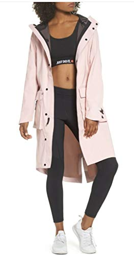 Nike Women's NikeLab City Ready Hooded NRG Anorak Jacket - Pink (X-Small)