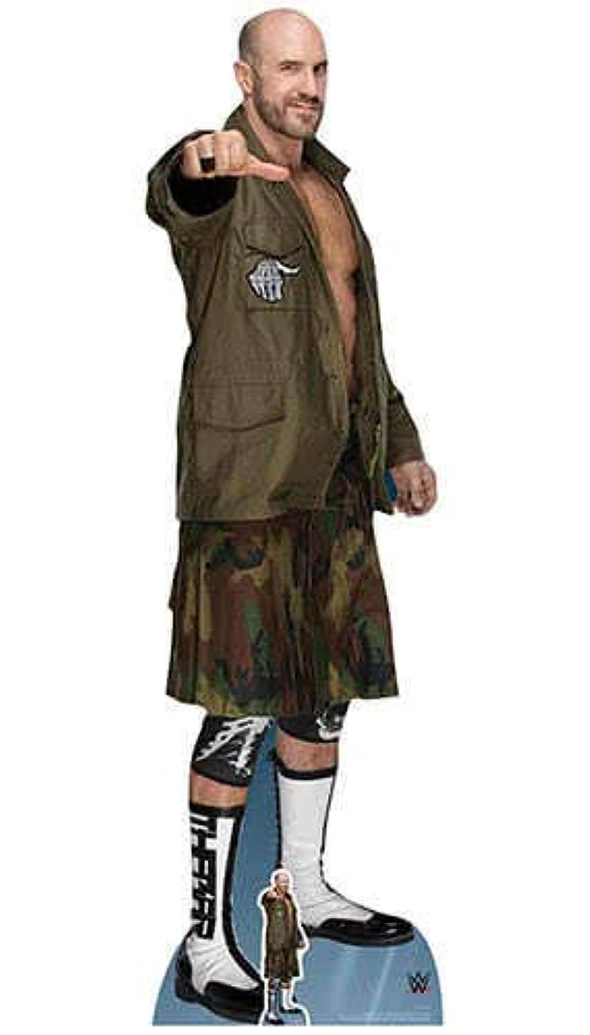 Star Cutouts SC1209 Official Lifesize Cardboard WWE Figure Cesaro 195cm Tall, Multicolour vflmuxasfqqvdm